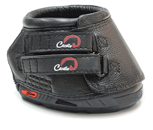 Cavallo Sport Regular Hoof Boots - Size:02 Color:Black by Cavallo