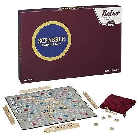Amazon.com: Scrabble Retro Series Exclusive: Toys & Games