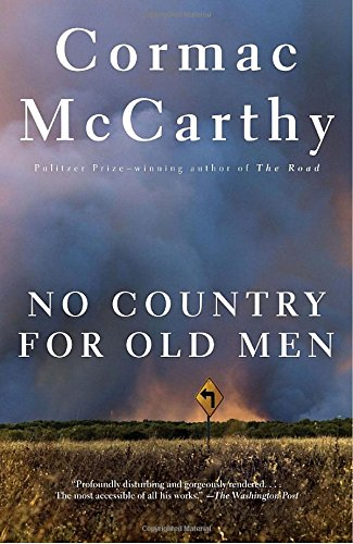Book cover from No Country for Old Men by Cormac McCarthy