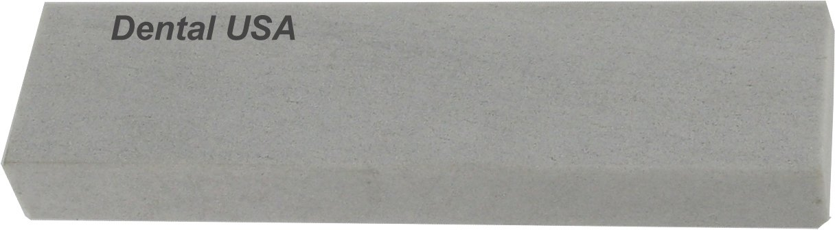 Dental USA 7424 Sharpening Stone White, Fap-14P, Ps Hard 4x1x3/8-1/2 Poly Arkansas by Dental USA by Dental USA