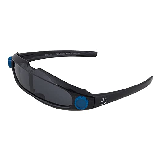 7d5c258aa4e1 Kids Flexible Rubber Sunglasses-UV Protection and Polarized Lenses for Boys  and Girls (Black