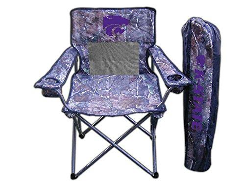 Rivalry Team Logo Camping Picnic Kansas State Realtree Camo Chair