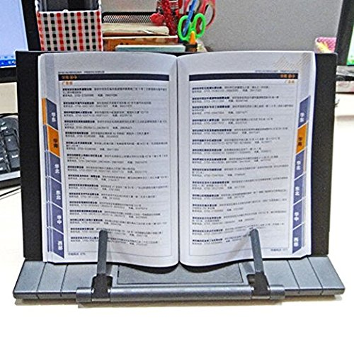 KLOUD City Bookstand Laptop /iPad/Cookbook / Music / Document Stand Holder Reading Stand with 7 Adjustable Positions