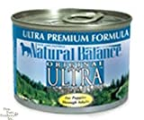 Natural Balance Canned Dog Food, Ultra Premium Recipe, 12 x 6 Ounce Pack, My Pet Supplies