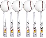 24 Pc Set of Inflatable Baseball Bats and Baseballs