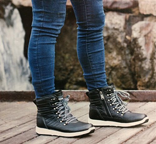 Boot Sneaker Black Women's Weatherproof Ankle tw5pq6v