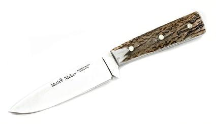 Amazon.com: Muela nicker-11 a.e Fixed Blade cuchillo de caza ...