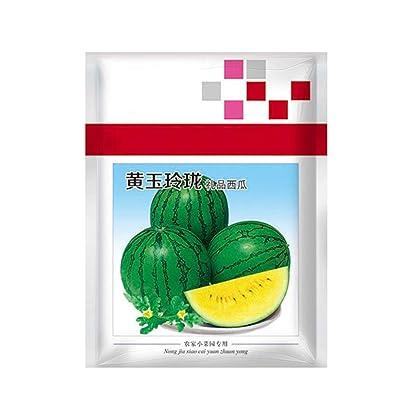 Yellow Heart Watermelon Seeds for Yard Gardening Plant Delicious Watermelon : Garden & Outdoor