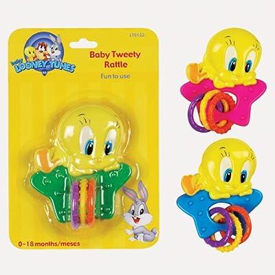 Looney Tunes Baby Tweety Rattle : Warner Bros Tweety : Baby