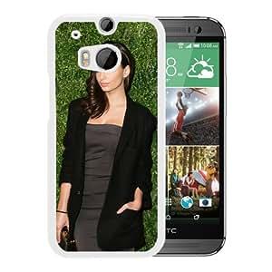 New Custom Designed Cover Case For HTC ONE M8 With Emily Ratajkowski Girl Mobile Wallpaper(318).jpg