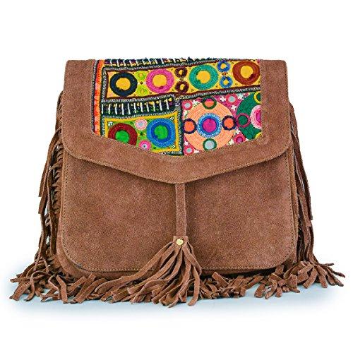 Gringo - Bolso bandolera Mujer marrón