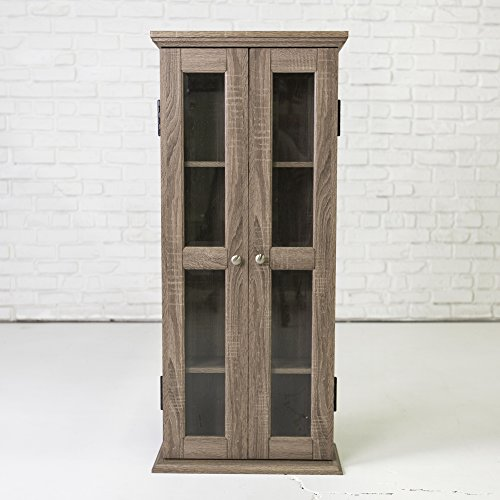 WE Furniture 41' Wood Media Cabinet - Driftwood