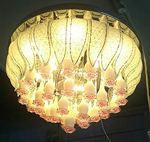 Buy 500 mm jhoomar ceiling light decorative chandelier with three ...