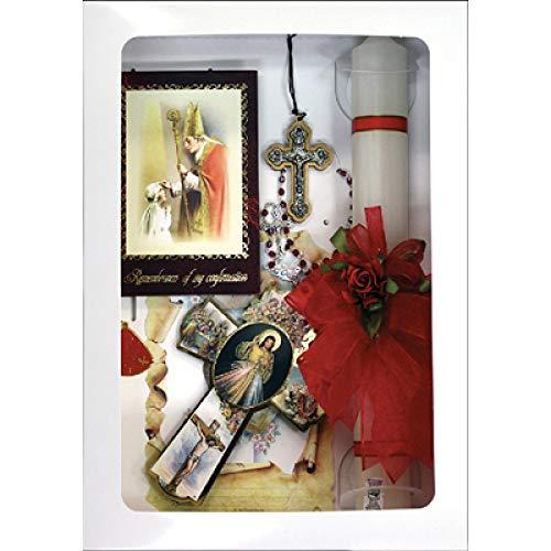 SF001 Catholic & Religious Gifts, Confirmation Gift Set Girl Spanish