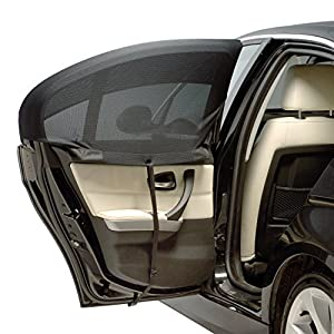 Side Window Car Shade: Window Sock Curved Single Pack