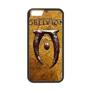 LA-ELDER-SCROLLS-IV-OLVIDO-8 a la Mejor funda iPhone 6 6s Plus funda del teléfono celular de 5.5 pufunda LGadas cubre negro
