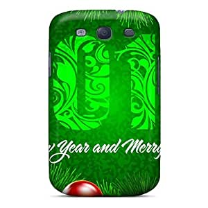 Hot New Happy New Year @merry Christmas Case Cover For Galaxy S3 With Perfect Design