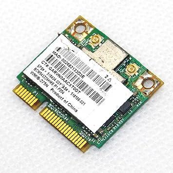 Amazon.com: HP Broadcom mitad bcm943224hms tarjeta wifi ...
