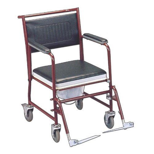 KosmoCare Prime Powder Coated Commode Wheelchair