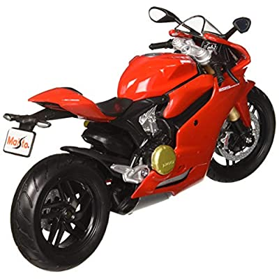 Maisto Ducati 1199 Panigale Motorcycle 1:12 Scale Model: Toys & Games