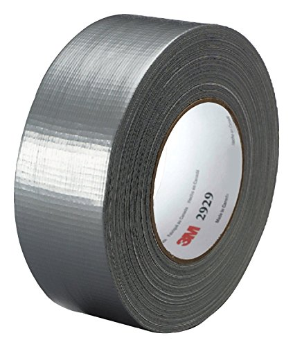 3M Utility Duct Tape 2929 Silver, 1-22/25 in x 50 yd 5.8 mils