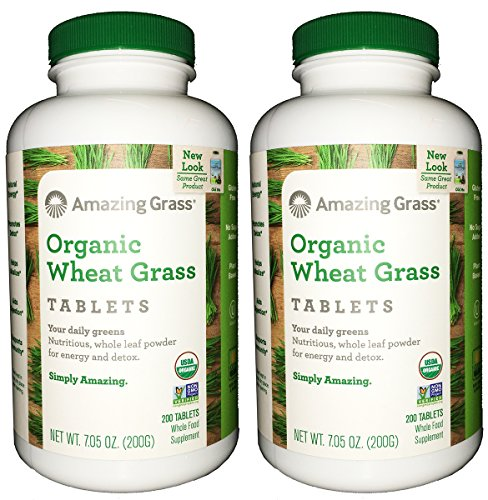 Amazing Grass Organic Wheat Tablets