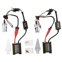 H8 H9 H11 HID Conversion Kit,CICMOD 55W H8 H9 H11 Xenon HID Conversion Kit Headlight Bulb,(8000K,2 Bulbs,2 Ballasts)