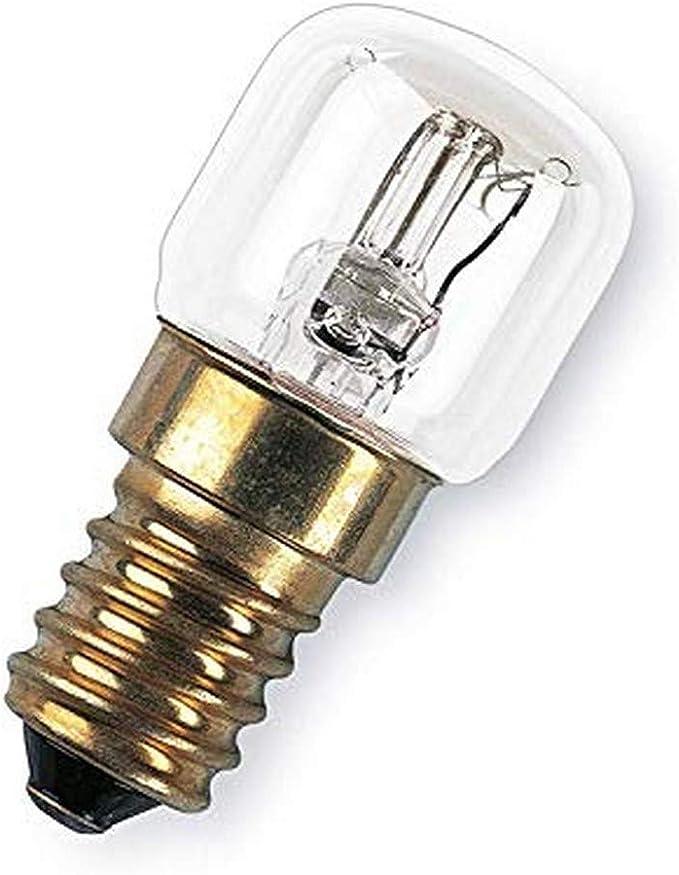 OSRAM Horno Bombilla Incandescente, E14, 15 watts, Trasparente, 1 Unidad: Amazon.es: Iluminación