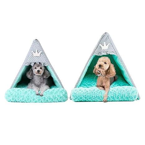 Petxwbed El Nido para Mascotas Tiene Una Caseta para Perros Cobertizo para Mascotas Lavable Pequeño Perro