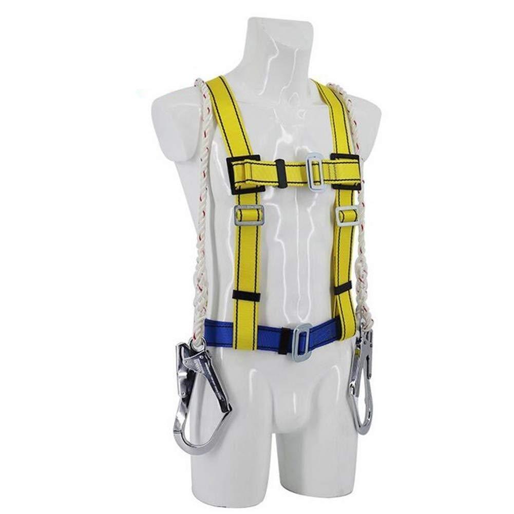 DaQingYuntur Aerial Work Protection Belt, Fall Protection Protection Suspension Double Back Large Hook Polyester, Ergonomic Structural Distribution Pressure by DaQingYuntur