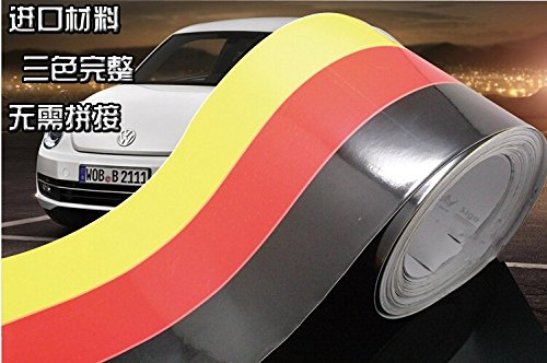 Dokot 174 47 Quot German Flag Hood Decal Vinyl Stickers Car