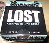 LOST Archives Trading Cards Box - 24pks w/ 4 Autographs