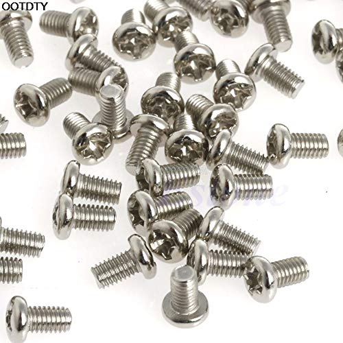 100pcs Screw Metric M3x5mm Phillips Pan Head Screw for 2.5