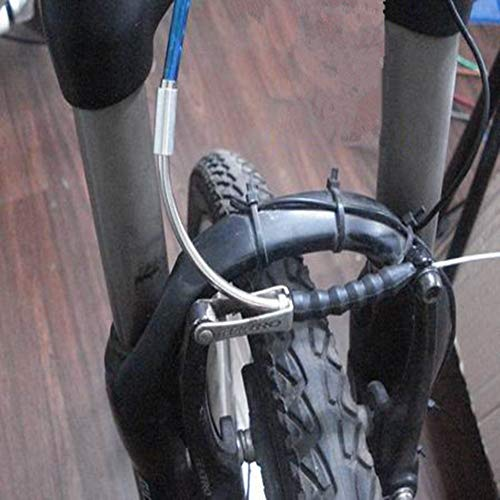 mimaniny Gu/ía moto V freno de fideos cable tubo de goma botas de bicicleta de ciclo del tubo del freno