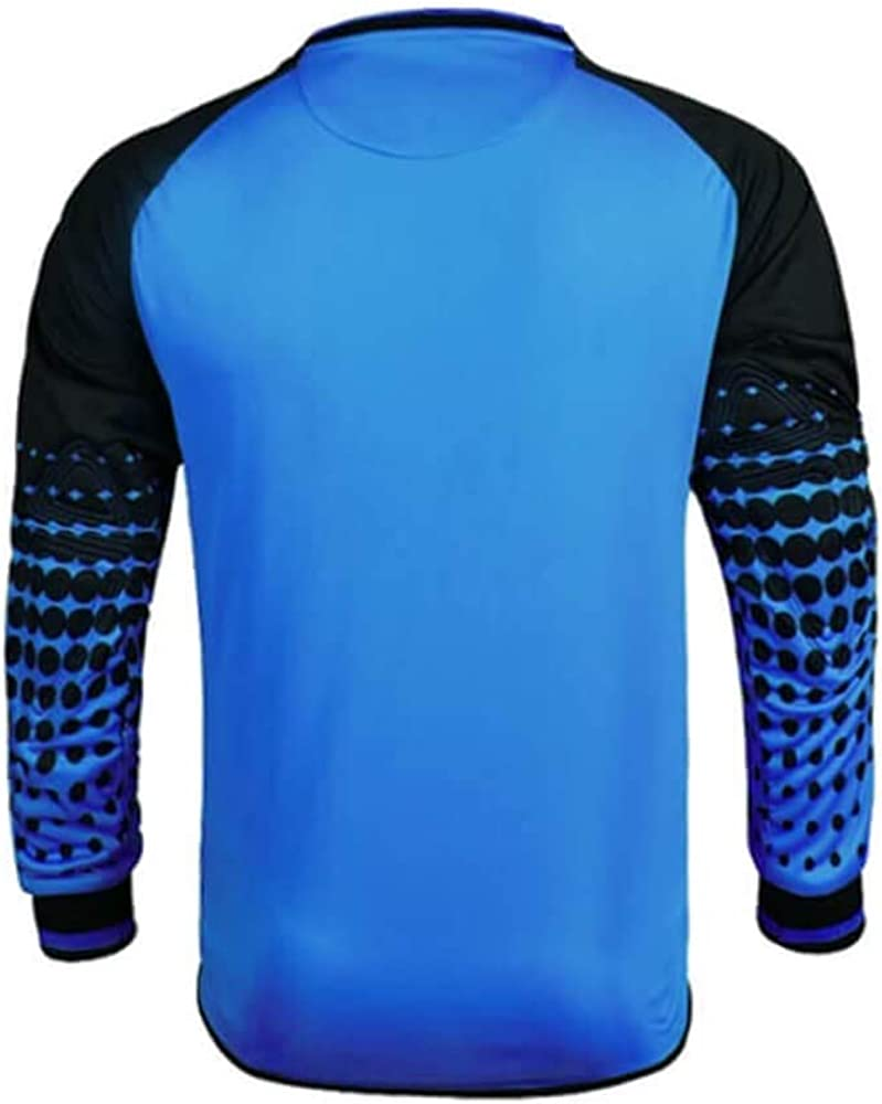 Includes Jersey Shorts /& Socks Protection Pads on Shorts /& Shirt Kids and Adult Sizes Goalkeeper Shirt Uniform Bundle