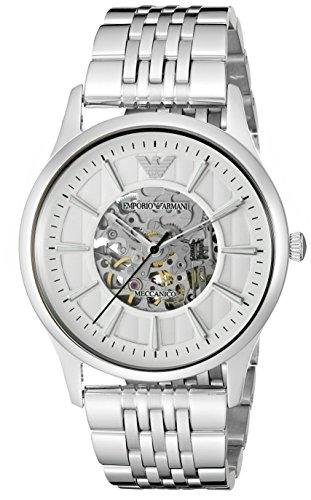 (Emporio Armani Men's AR1945 Dress Silver Watch)