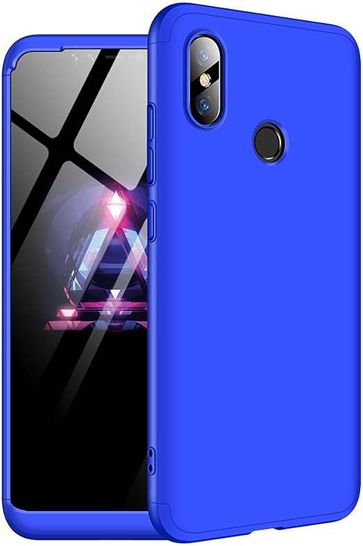 Bigcousin Funda para Xiaomi Mi 8, Funda 360 Grados Protección ...