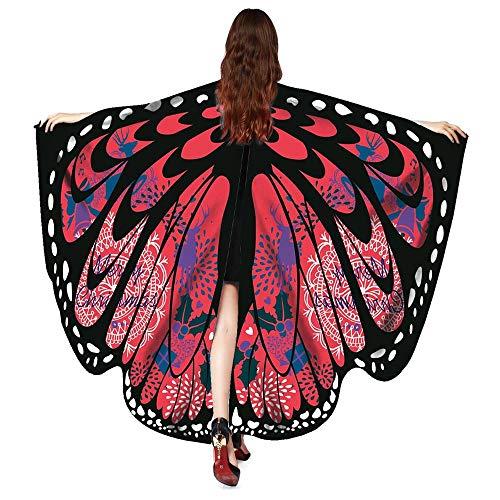 Festival Party Props Butterfly Wings Women Shawl Scarves