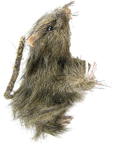 Standing Furry Rat Rodent Pest Decoration