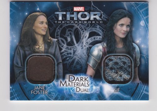 Thor the Dark World Jane Foster & SIF Dual Costume Card #DMD-3]()