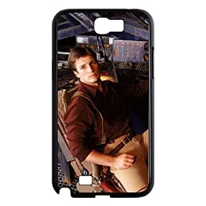 Fashion Style for Samsung Galaxy Note 2 Cell Phone Case Black malcolm reynolds firefly YIP4872489