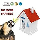 Petsonik Rechargable Ultrasonic Dog Bark Control Device | Upgraded Birdhouse Anti Bark Device | Sonic Bark Deterrent Box To Stop Dog Barking | No Battery Required