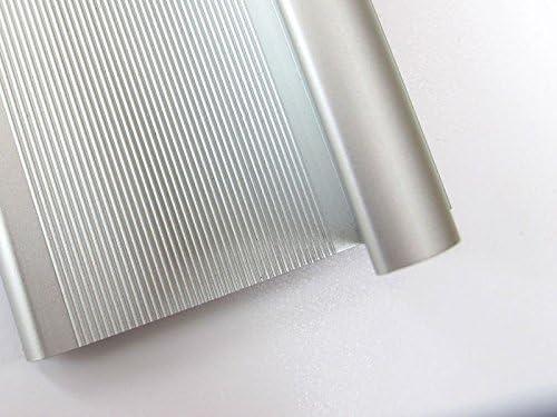 Sicherheitslineal mit Antirutschbeschichtung Lineal aus Aluminium mit Fingerschutz Profi-Sicherheitslineal 75cm alu Lineal mit Stahlkante