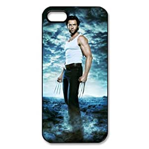 Customized Wolverine Cover Case for iPhone 5/5S TPU Cover Case-5S025WVR
