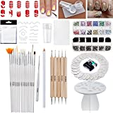 Nail Art Set of Assorted Tools and Decorations