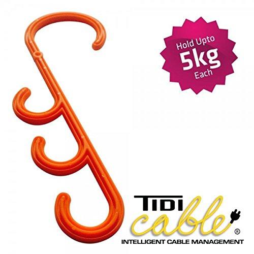 TIDI perchas - Tidy tidi-Cable gestión gancho percha corbata ...