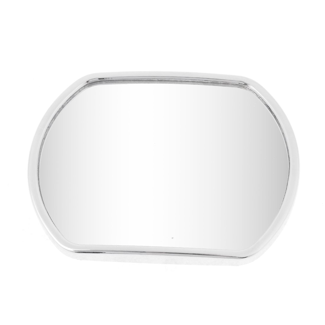 uxcell® Truck Car Stick-on Wide Angle Convex Rearview Blind Spot Mirror Silver Tone