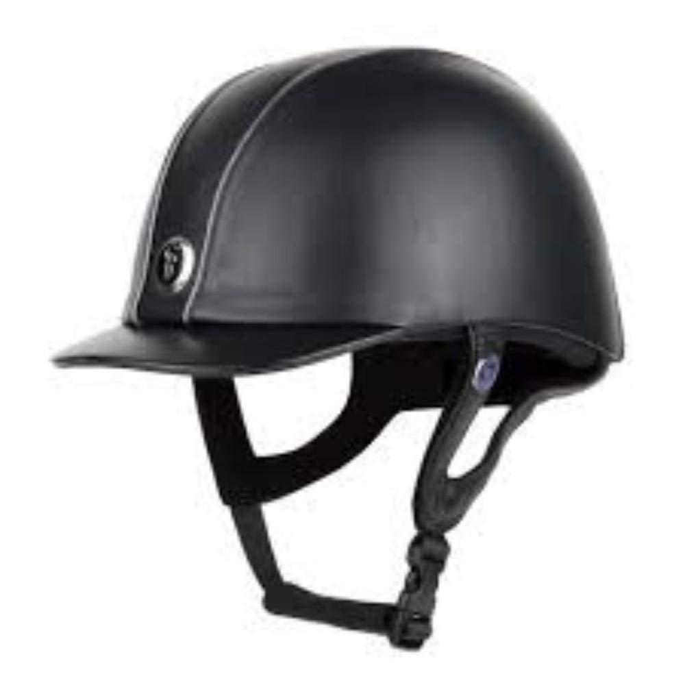 Gatehouse Jeunesse Leather Riding Hat