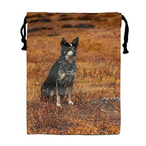 Drawstring Bag German Shepherd Sackpack Travel Cinch Tote