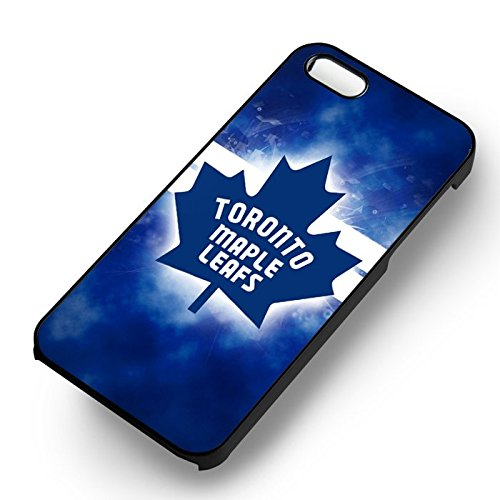 Blue Maple Leafs pour Coque Iphone 6 et Coque Iphone 6s Case (Noir Boîtier en plastique dur) N2S5UX